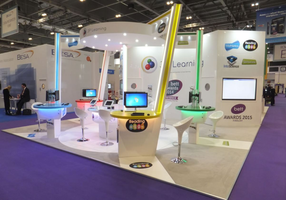lighting for exhibition stands