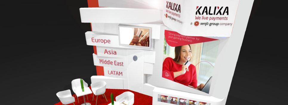 Kalixa exhibition stand design