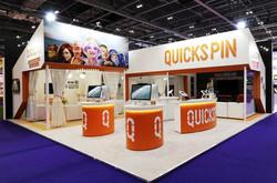 Quicksplin exhibition stand builder
