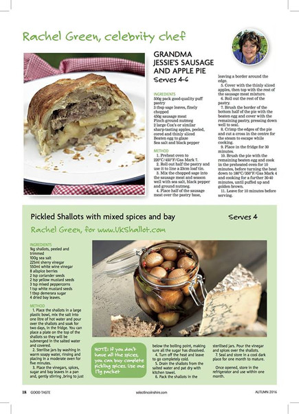 rachel green recipe development