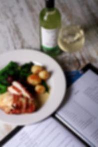 menu and dish with wine.jpg