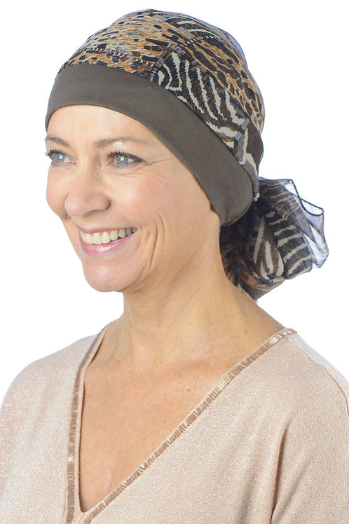 Fay Chemo Head Scarf With Hat