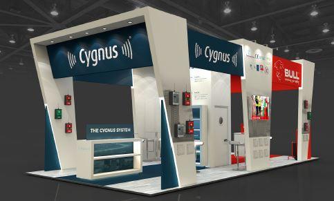 Bull exhibition stand designers UK