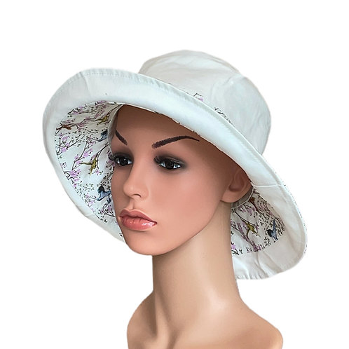 Carley Reversible Sun Hat Pale Sage