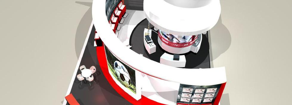 Tipwin exhibition stand designer