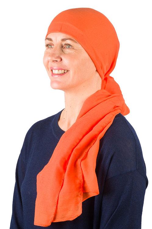 Harmony Chemo Head Scarf Burnt Orange