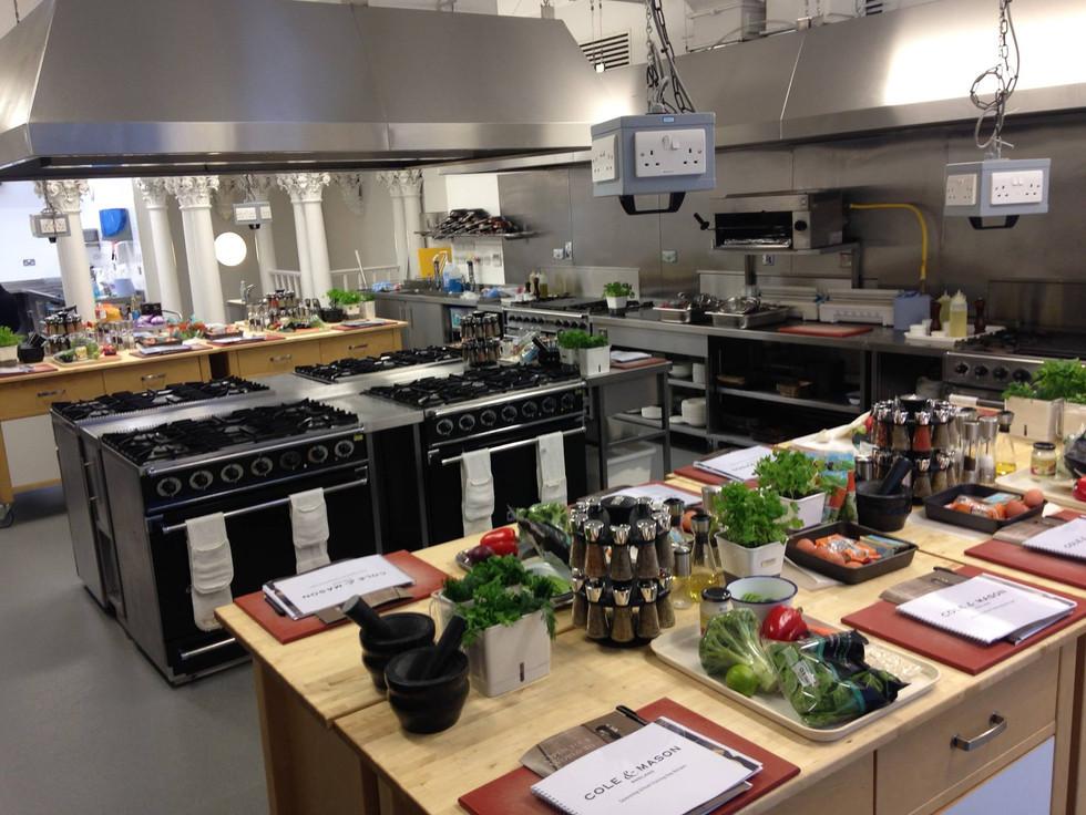 corporate cookery schools