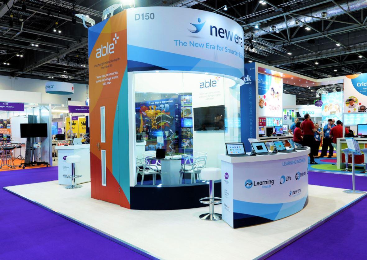 bright new exhibition build
