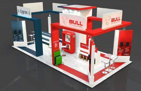 Bull exhibition stand designer UK