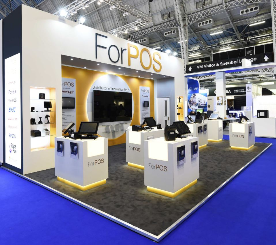 FOR POS exhibition stand builder