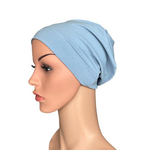 Molly Cornflower Blue Chemo Beanie for Hair loss