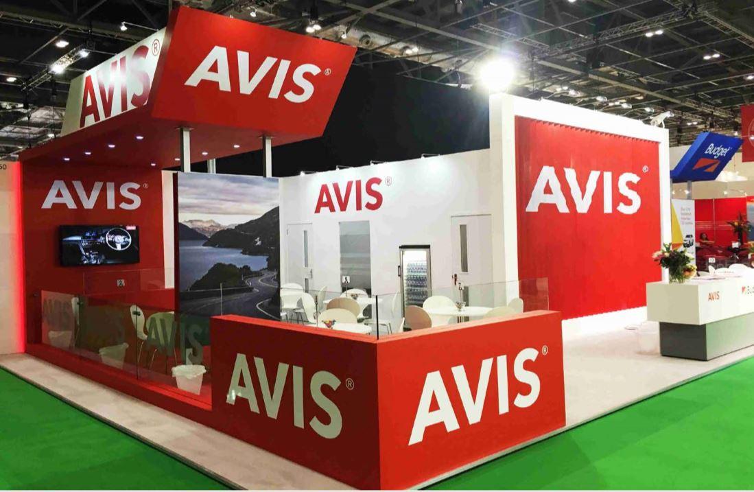 Avis trade show builder