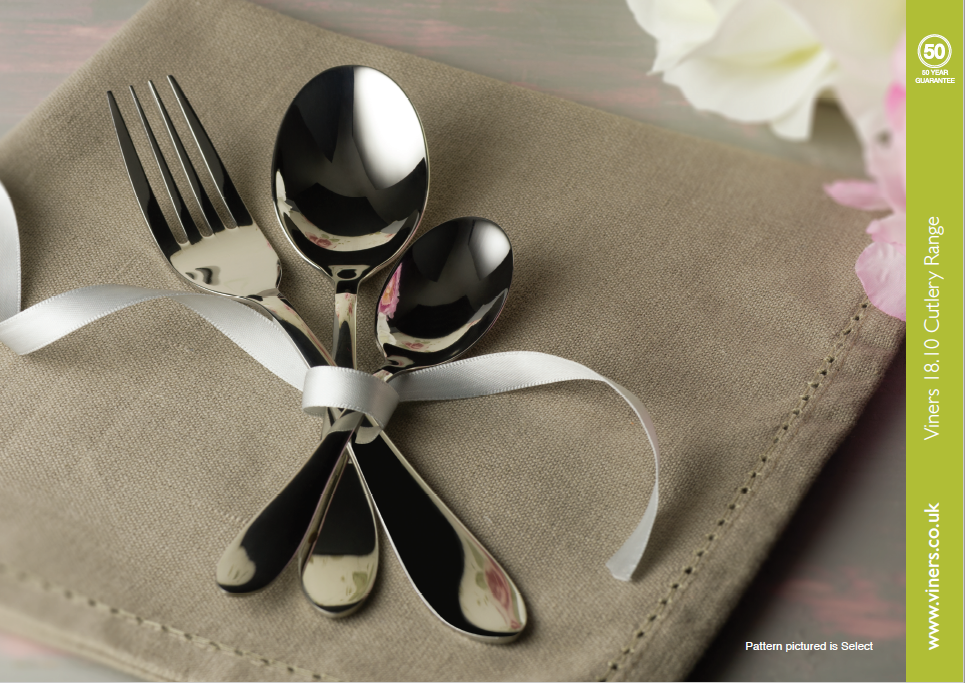 viners cutlery catalogue image