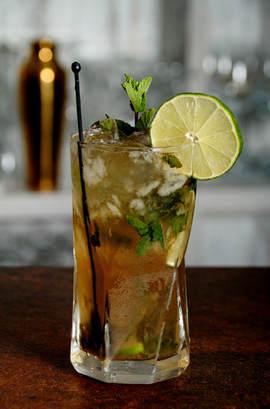 enzee cocktail menu