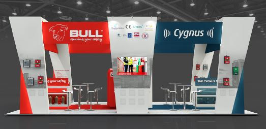 Bull exhibition stand designer