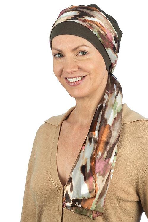 Freya Chemo Hat & Head Scarf