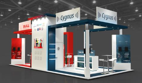 Bull large exhibition stand design