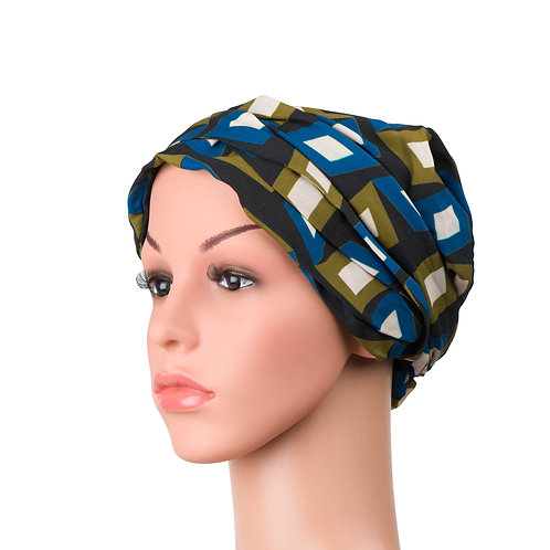 Gabbie Chemo Turban/Easy Tie Head Scarf For Cancer Patients
