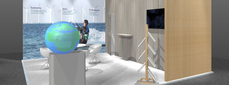 Orsted small exhibition stand design
