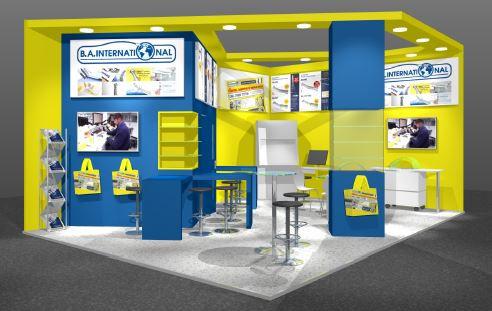 BA International exhibition stand design