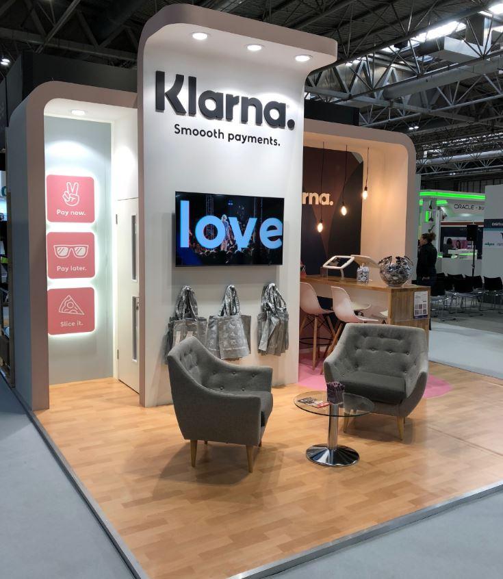Klarna exhibition stand suppliers