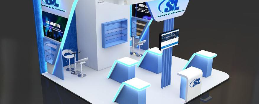 SL exhibition stand design