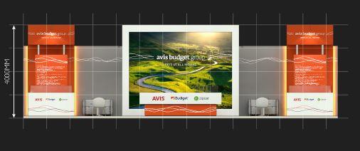 Avis exhibition stand design