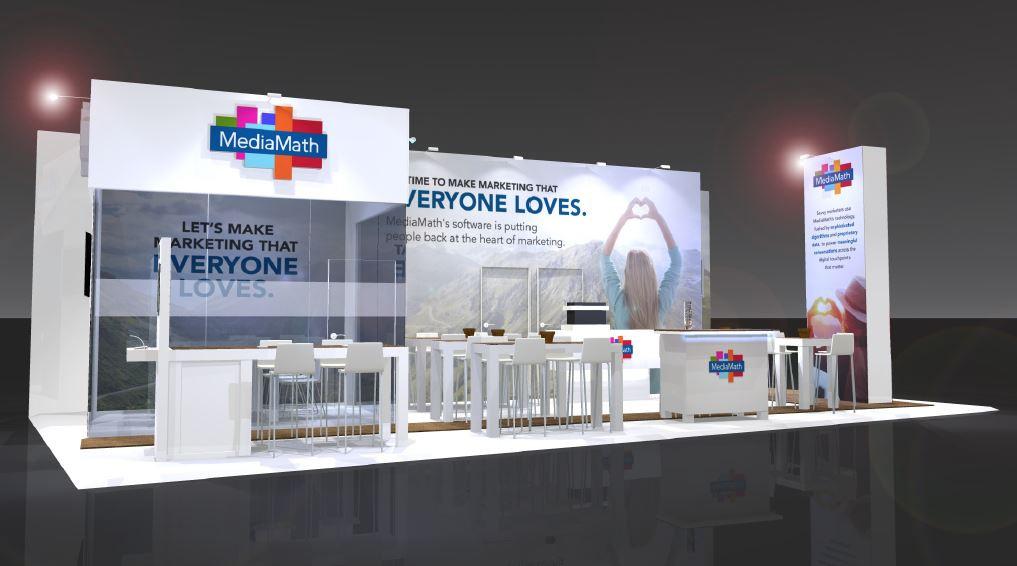 Mediamath exhibition stand design