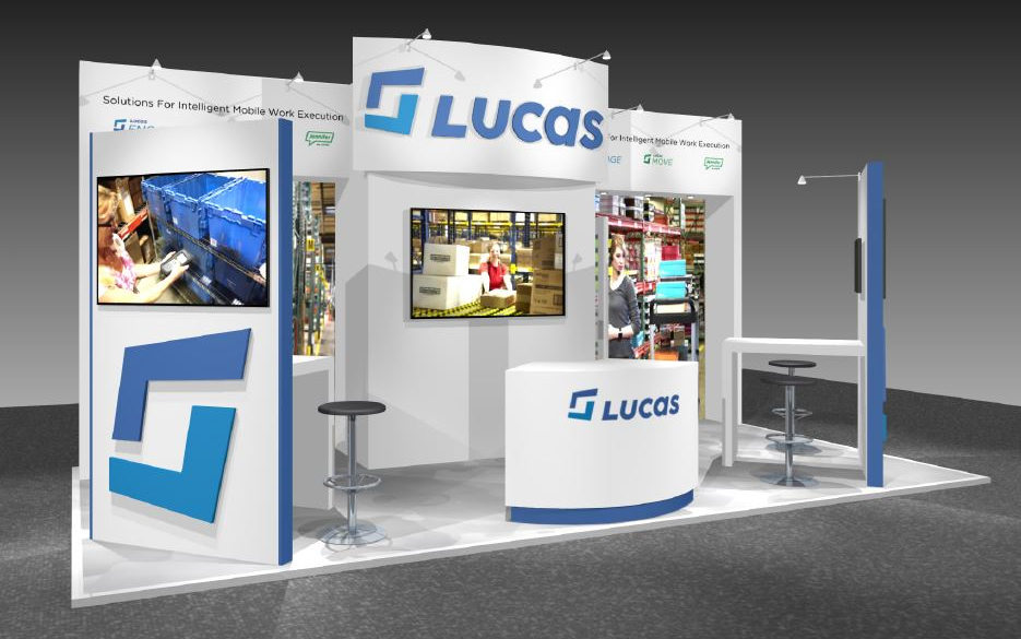 Lucas small exhibition stand design