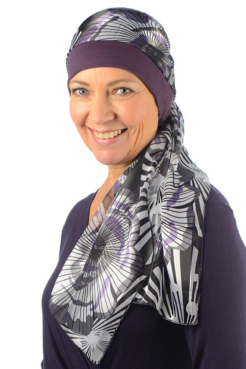 Sienna Chemo Head Scarf With Attached Hat