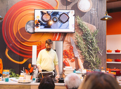 Le Creuset exhibition stand UK