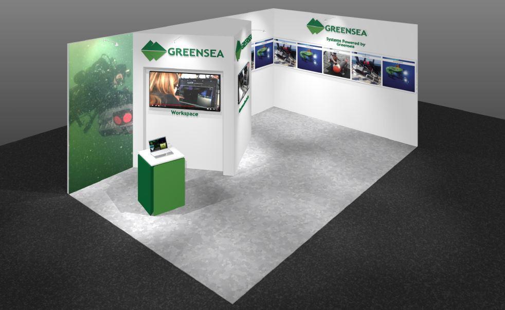 Greansea exhibition stand design