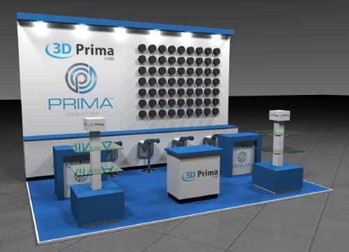 Prima small exhibition stand design