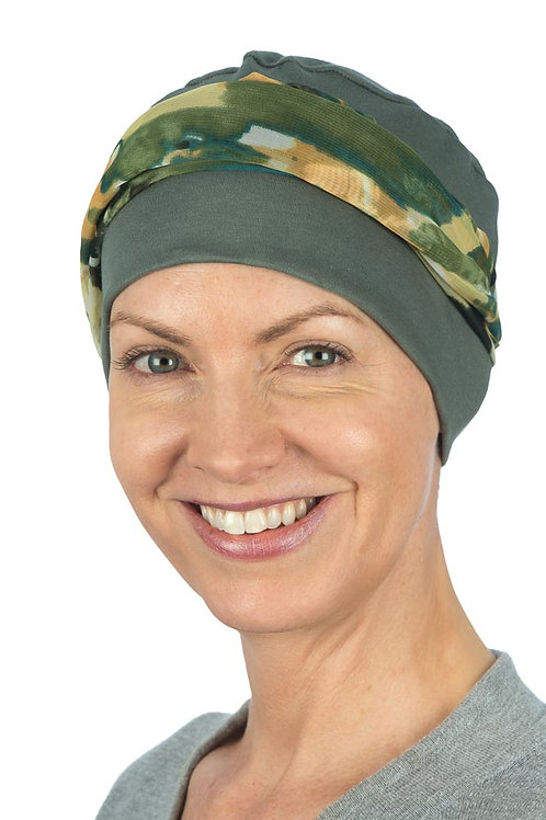 Isla Chemo Headcover Hat & Scarf