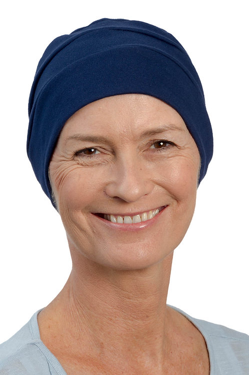 Lucy Chemo Hat Navy