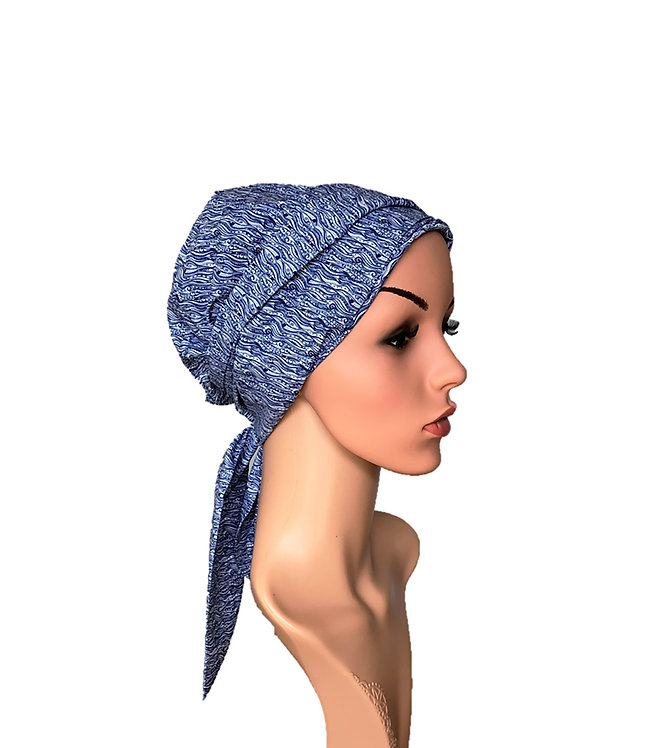 Ava Chemo Turban/Easy Tie Head Scarf For Cancer Patients