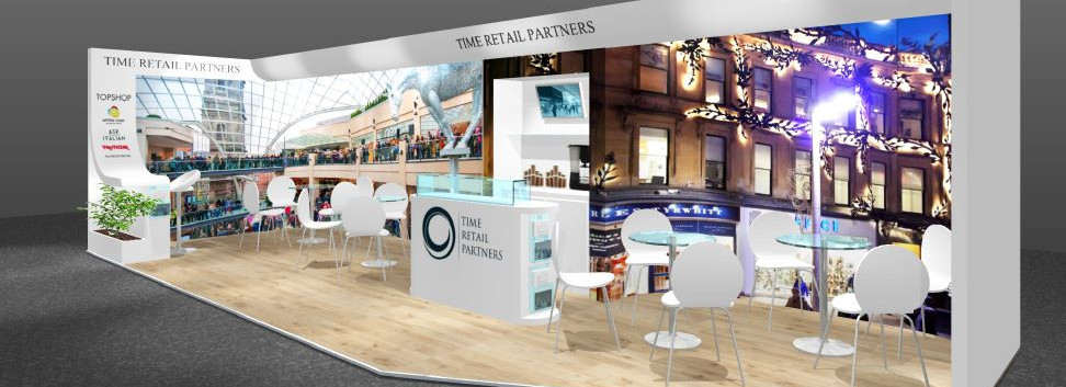 Time Retail exhibition stand design