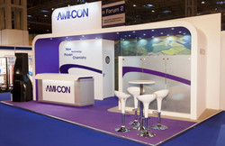 exhibition stand with impact