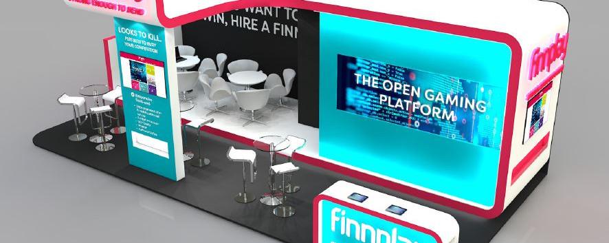 Finnplay exhibition stand design