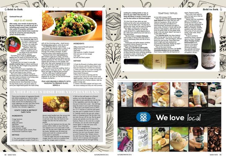 magazine editorial and pr