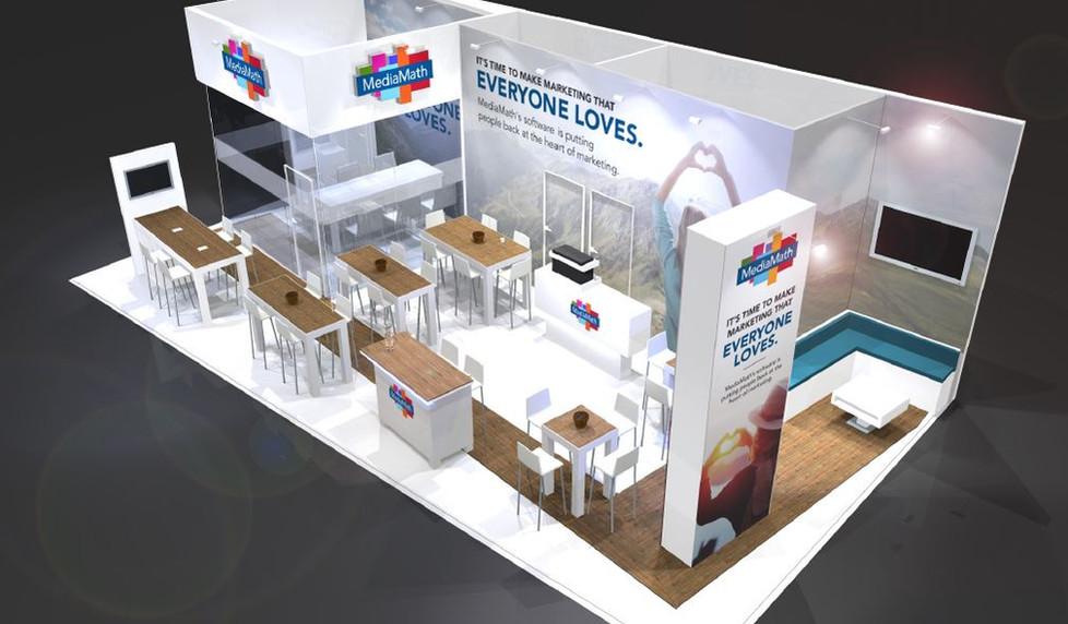Mediamath exhibition stand designer