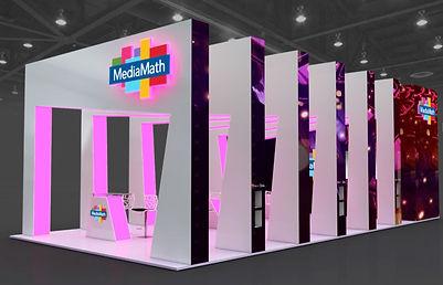 MediaMath New Exhibition Stand