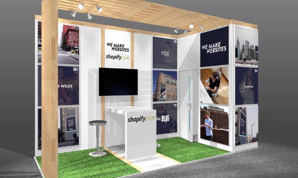 wemakewebsites small exhibition stand design