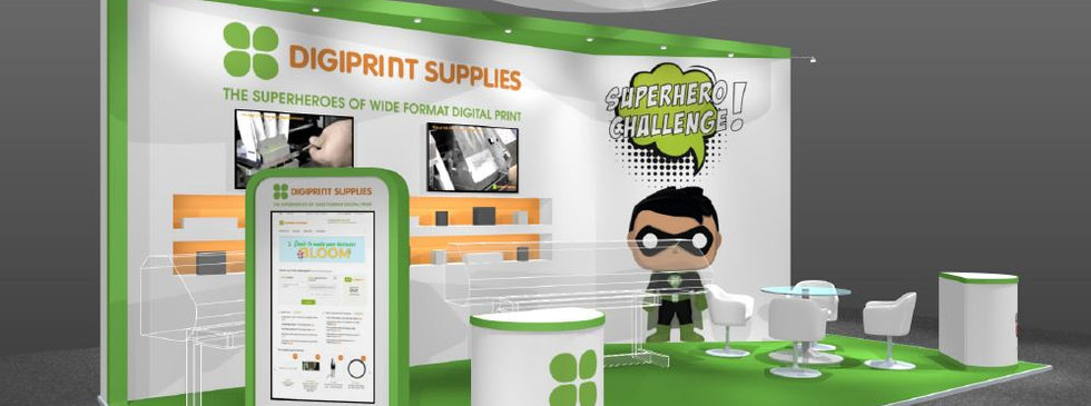 Digiprint small exhibition stand design