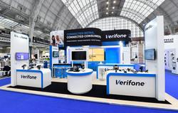 Verifone impactful exhibition stand