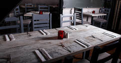 inside enzee restaurant