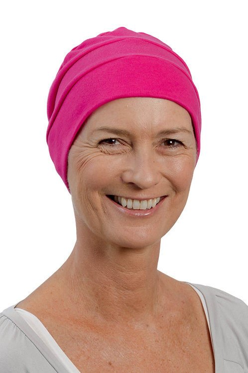 Lucy Chemo Hat Cerise