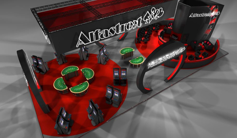 Alfastreet large exhibition stand designers UK