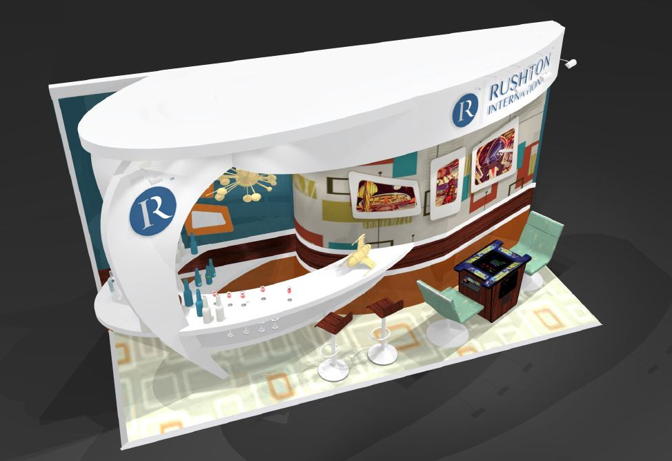 Rushton International exhibition stand design