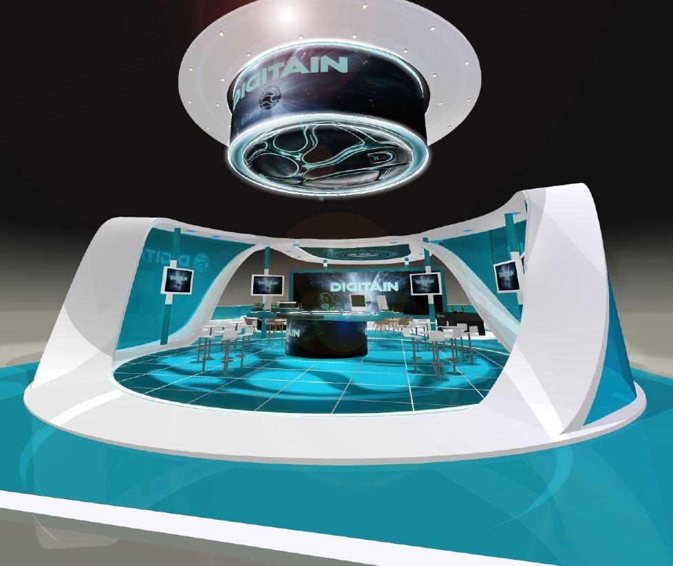 Digitain exhibition stand designer